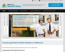 Melbourne Rental Values